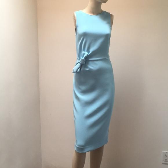 buy popular 87e71 cbe46 SALE✨NWT Stunning P.A.R.O.S.H Italy Bow Dress XS